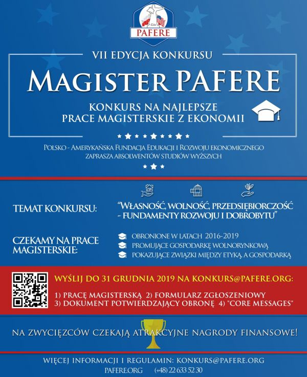 Konkurs Magister-Pafere
