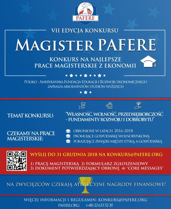 Magister PAFERE 2018